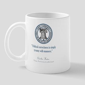 Charlton Heston Quote Mug