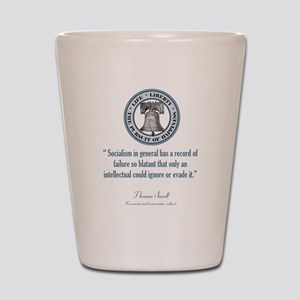 Thomas Sowell Quote Shot Glass