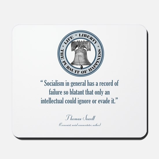 Thomas Sowell Quote Mousepad