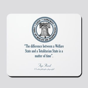 Ayn Rand Quote Mousepad