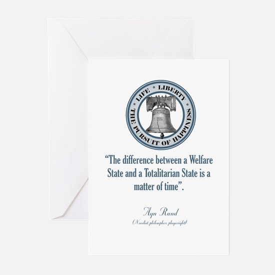 Ayn Rand Quote Greeting Cards (Pk of 10)