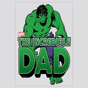 The Incredible Dad Wall Art