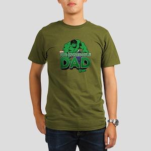 The Incredible Dad Organic Men's T-Shirt (dark)