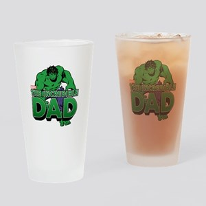 The Incredible Dad Drinking Glass