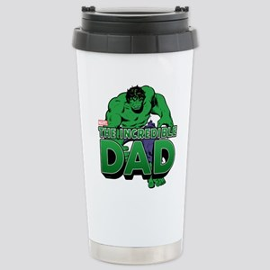 The Incredible Dad Stainless Steel Travel Mug