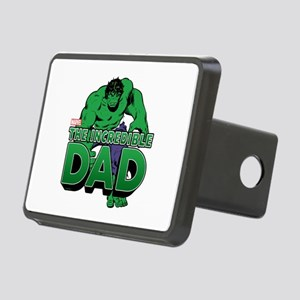 The Incredible Dad Rectangular Hitch Cover