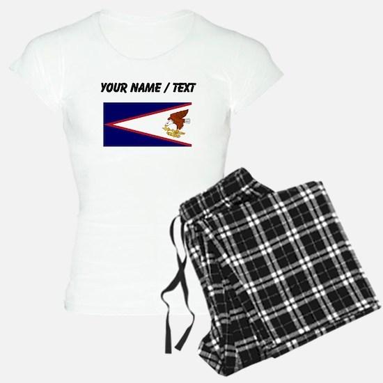 Custom American Samoa Flag Pajamas