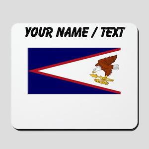 Custom American Samoa Flag Mousepad