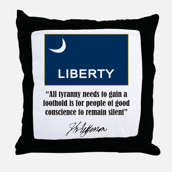 People of Conscience Throw Pillow