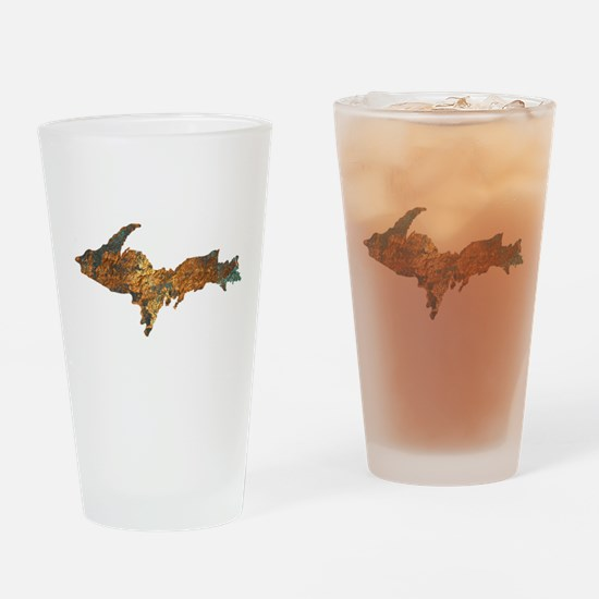 Raw Float Copper Drinking Glass