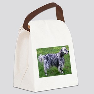 English Setter full Canvas Lunch Bag