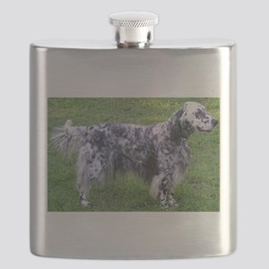 English Setter full Flask