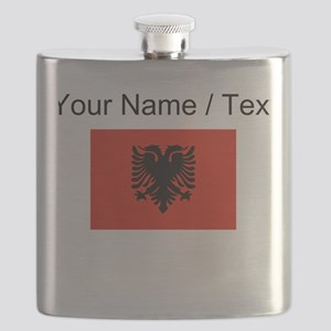 Custom Albania Flag Flask