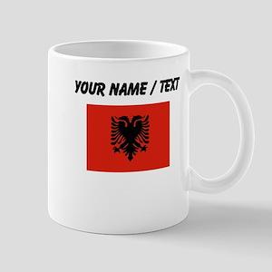 Custom Albania Flag Mugs