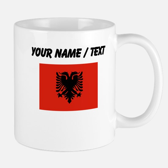 Custom Albania Flag Mugs
