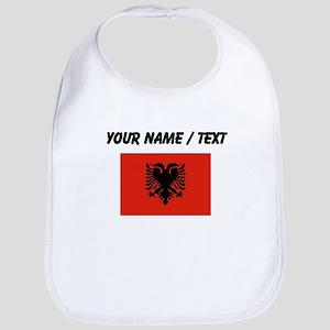 Custom Albania Flag Bib