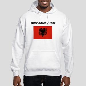 Custom Albania Flag Hoodie