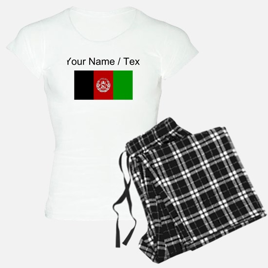 Custom Afghanistan Flag Pajamas