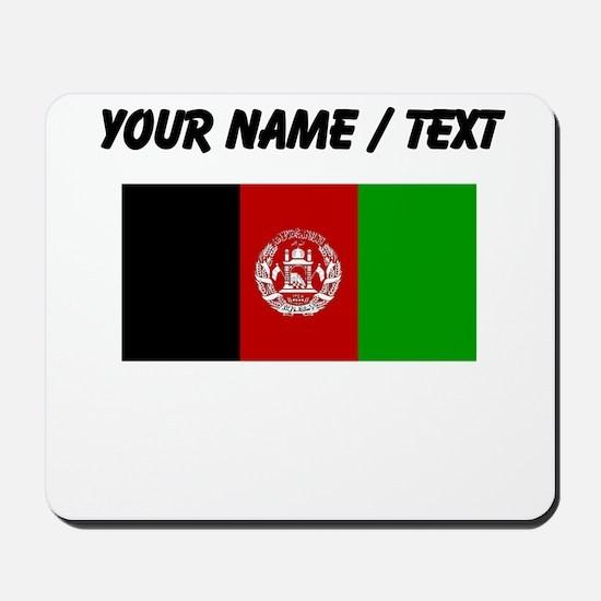 Custom Afghanistan Flag Mousepad