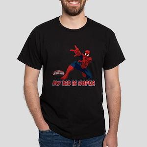Spider-Man My Kid is Super Dark T-Shirt