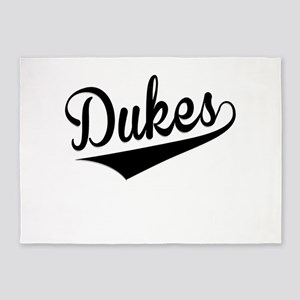 Dukes, Retro, 5'x7'Area Rug