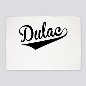 Dulac, Retro, 5'x7'Area Rug
