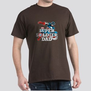 Super Soldier Dad Dark T-Shirt