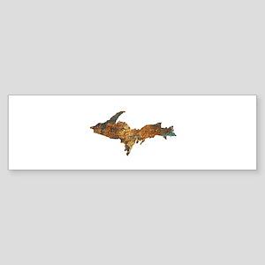 Raw Float Copper Bumper Sticker