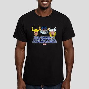 Thor: Favorite Son Men's Fitted T-Shirt (dark)