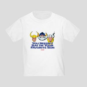 Thor: Favorite Son Toddler T-Shirt