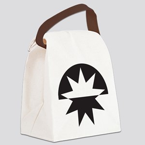 Art Deco Star Sunburst Canvas Lunch Bag