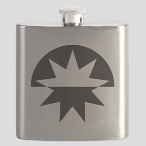 Art Deco Star Sunburst Flask