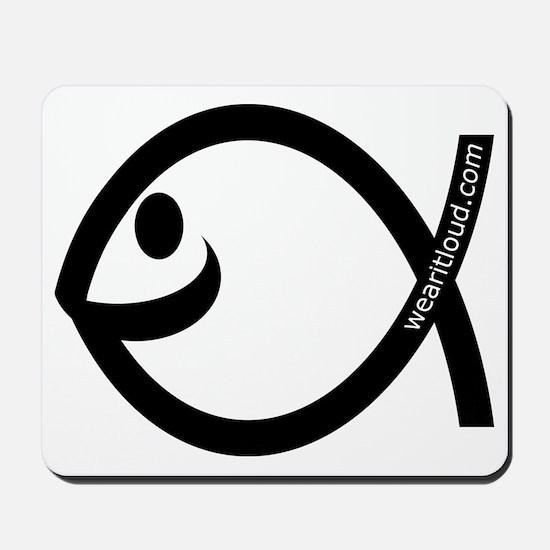 Smiling Fish Mousepad