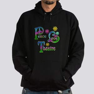 Peace Love Theatre Hoodie (dark)