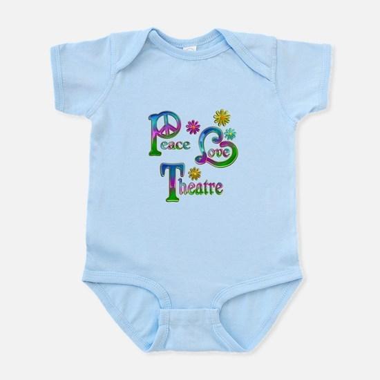 Peace Love Theatre Infant Bodysuit