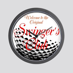 Swingers Club Wall Clock