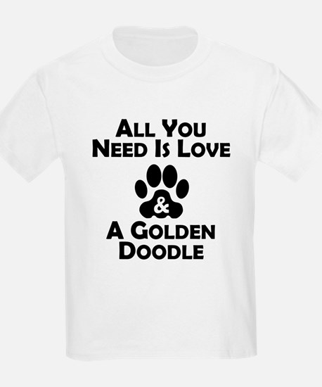Love And A Goldendoodle T-Shirt
