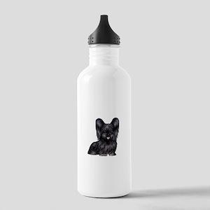Skye Terrier (blk) Stainless Water Bottle 1.0L