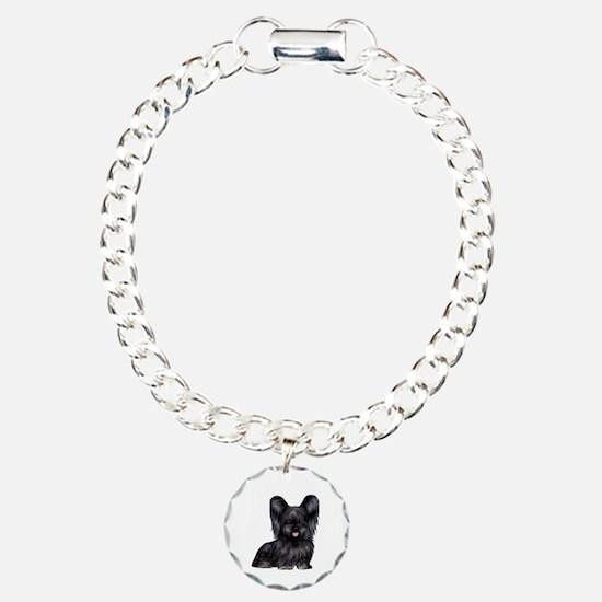 Skye Terrier (blk) Bracelet