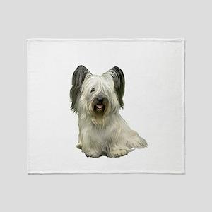 Skye Terrier (lt) Throw Blanket