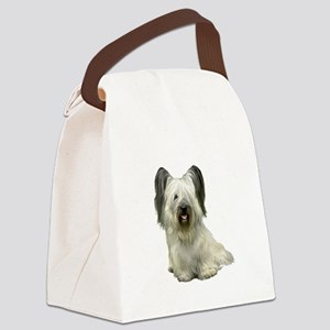 Skye Terrier (lt) Canvas Lunch Bag