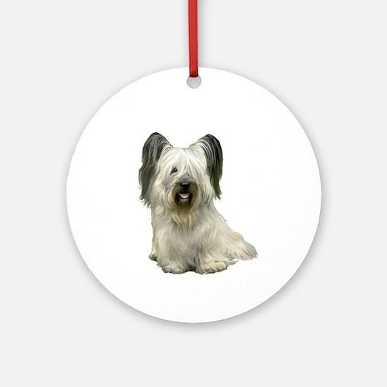 Skye Terrier (lt) Ornament (Round)