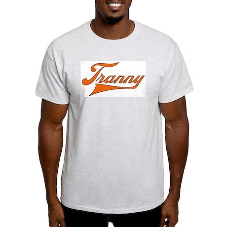 Tranny O Ash Grey T-Shirt