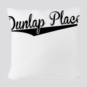 Dunlap Place, Retro, Woven Throw Pillow
