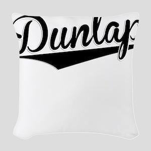 Dunlap, Retro, Woven Throw Pillow