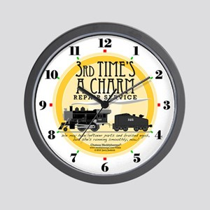 Third Time's A Charm Repair Service Clock