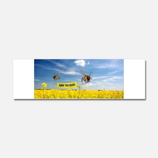 bees Car Magnet 10 x 3
