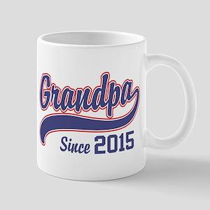 Grandpa Since 2015 Mug