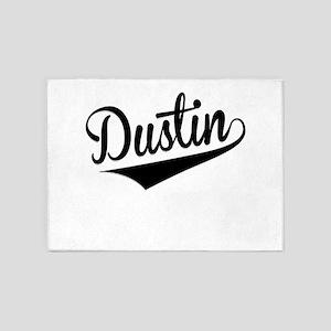 Dustin, Retro, 5'x7'Area Rug