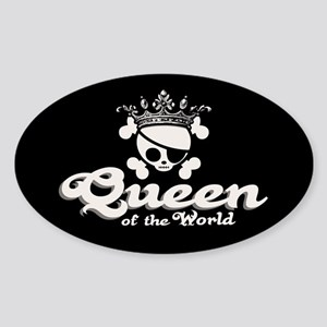 Queen of the World Sticker (Oval)